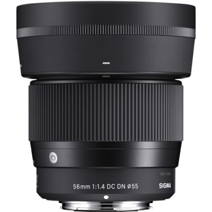 Lensa SIGMA 56mm f/1.4 DC DN Contemporary Lens for Sony / Canon EF Mount 1 _canon_ef_mount