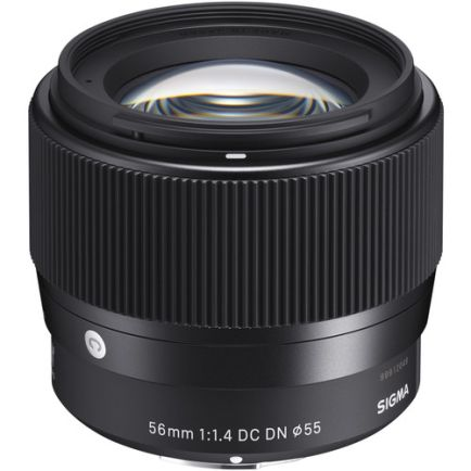 Lensa SIGMA 56mm f/1.4 DC DN Contemporary Lens for Sony / Canon EF Mount 3 _canon_ef_mount