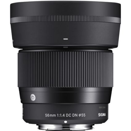 Lensa SIGMA 56mm f14 DC DN Contemporary Lens for Sony  Canon EF Mount