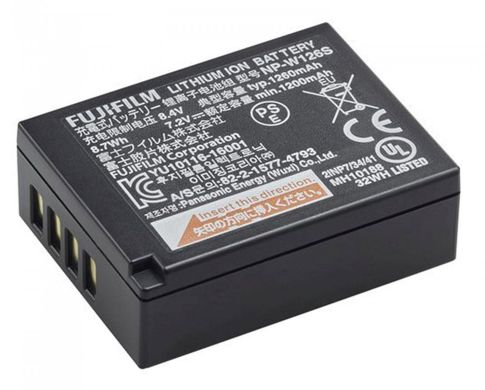 Battery and Charger Battery Fujifilm NP-W126S 1 battery_fujifilm_npw126s_taskameraid