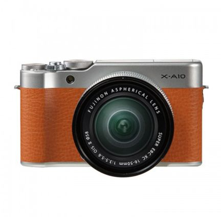 Kamera Mirrorless Kamera Fujifilm X-A10 kit XC 16-50mm F3.5-5.6 OIS II Brown<br> 1 fujifilm_x_a10_brown_taskamera_id
