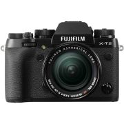 Kamera Mirrorless Kamera Fujifilm X-T2 kit XF 18-55mm F2.8-4 R LM OIS (Black)