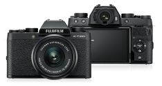 Kamera Mirrorless Kamera Fujifilm XT100 kit XC 1545mm F3556 OIS Black