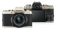 Kamera Mirrorless Kamera Fujifilm XT100 kit XC 1545mm F3556 OIS Gold