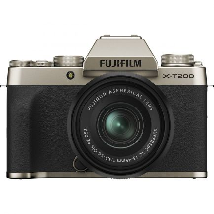 Kamera Mirrorless Kamera Fujifilm X-T200 kit XC 15-45mm  3 fujifilm_xt200_gold_taskameraid