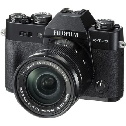 Kamera Mirrorless Kamera Fujifilm X-T20 kit XC 16-50mm F3.5-5.6 OIS II (Black) 3 fujifilm_xt20_kit_xc1650mm_black_taskameraid_2