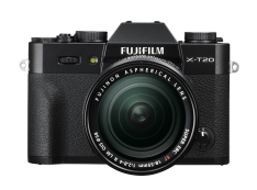 Kamera Mirrorless Kamera Fujifilm X-T20 kit XF 18-55mm F2.8-4 R LM OIS (Black)