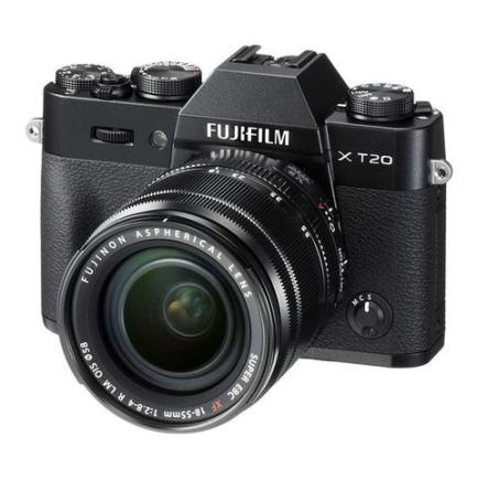 Kamera Mirrorless Kamera Fujifilm X-T20 kit XF 18-55mm F2.8-4 R LM OIS (Black) 3 fujifilm_xt20_kit_xf1855mm_black_taskameraid_3