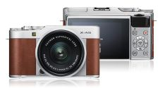 Kamera Mirrorless Kamera Fujifilm XA5 kit XC 1545mm F3556 OIS Brown