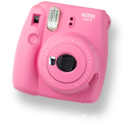 Kamera Instax Instax Mini 9 - Flamingo Pink 3 instax_mini_9_flamingo_pink_taskameraid3