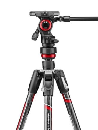 Tripod dan Monopod Manfrotto Befree live Carbon tripod twist with video head MVKBFRTC-LIVE 5 manfrotto_befree_mvkbfrtc_live_taskameraid__5