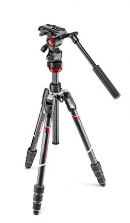 Tripod dan Monopod Manfrotto Befree live Carbon tripod twist with video head MVKBFRTC-LIVE 1 manfrotto_befree_mvkbfrtc_live_taskameraid__7