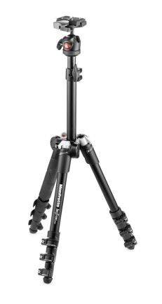 Tripod dan Monopod Manfrotto BeFree One MKBFR1A4 Aluminium Travel Tripod with Head 1 manfrotto_tripod_befree__mkbfr1a4_black