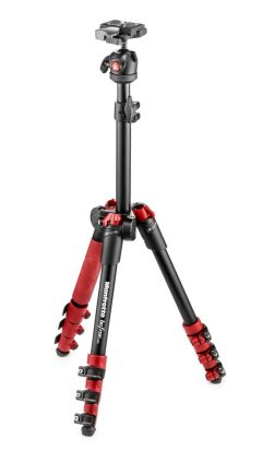 Tripod dan Monopod Manfrotto BeFree One MKBFR1A4 Aluminium Travel Tripod with Head 2 manfrotto_tripod_befree_red__mkbfr1a4