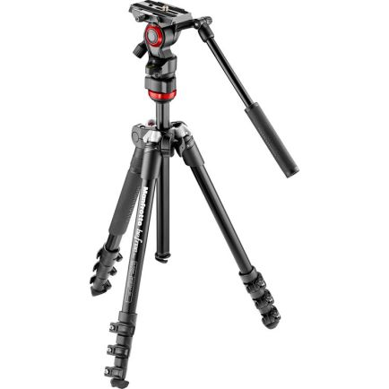 Tripod dan Monopod Manfrotto Befree Alu tripod twist video head MVKBFRT-LIVE 1 photo_1_manfrotto_befree_alu_tripod_twist_video_head_mvkbfrt_live