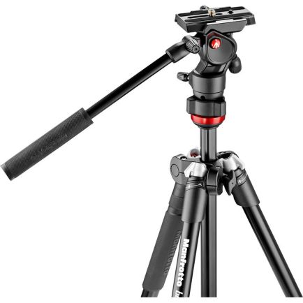 Tripod dan Monopod Manfrotto Befree Alu tripod twist video head MVKBFRT-LIVE 2 photo_1_manfrotto_befree_alu_tripod_twist_video_head_mvkbfrt_live