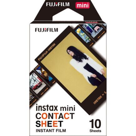 Kamera Instax Refill Instax Contact Sheet isi 10 Lembar 1 photo_1_refill_instax_contact_sheet_isi_10_lembar