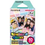 Kamera Instax Fujifilm Refill Instax Mini Film Stained Glass  10 lembar