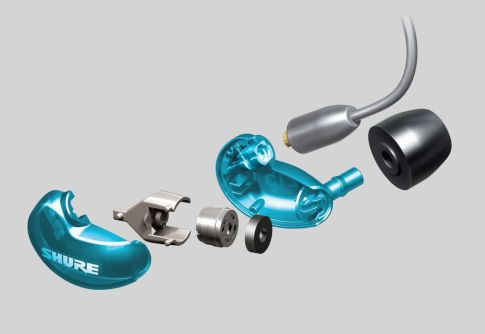 Earphone, Headphone & Mic SHURE SE215SPE Sound Isolating Earphones, Special Edition 3 se215_spe3