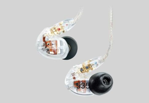 Earphone, Headphone & Mic SHURE SE535 Sound Isolating Earphones 1 se535_clear