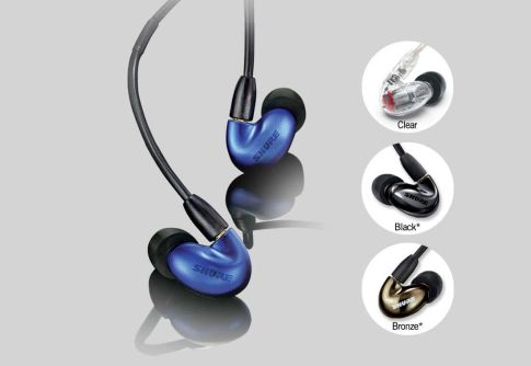 Earphone, Headphone & Mic SHURE SE846 Sound Isolating™ Earphones 1 se846_blue_1