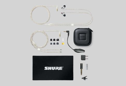 Earphone, Headphone & Mic SHURE SE846 Sound Isolating™ Earphones 7 se846_clear3