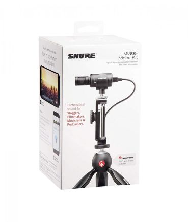 Earphone, Headphone & Mic SHURE MV88+ Video Kit Mic for Smartphone 5 shure_mv88_shure_indonesia_5