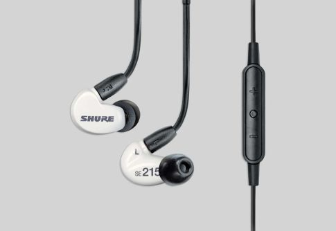 Earphone, Headphone & Mic SHURE SE215m+ Special Edition Sound Isolating™ Earphones with Detachable Cable and Remote + Mic 1 shure_se215m_spe_taskameraid_1