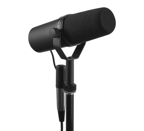 Earphone, Headphone & Mic SHURE SM7B Dynamic Studio Vocal Microphone 4 shure_sm7b_mic_taskameraid__5