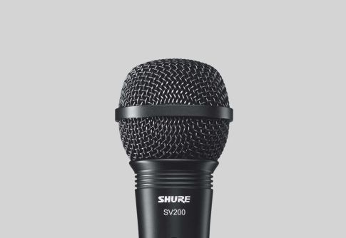 Earphone, Headphone & Mic SHURE SV200 Vocal Microphone 1 shure_sv200_mic
