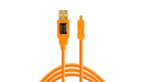 Tether Cables and Acc TetherPro USB 2.0 to Mini-B 8-Pin - Tether Tools Cable 1 tether_tools_usb_2_to_mini_b_8_pin__1